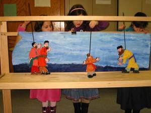 Core Partner Programming Yeshiva Elementary School Puppet Show